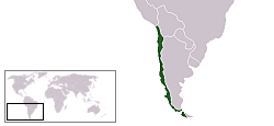 Location of Chile