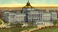 Main Library of Congress Building at the start of the 20th century