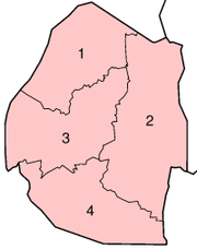 Districts of Swaziland